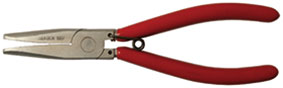 Upholstery clips cramping plier