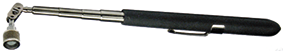 Telescopic magnet with powercap,  all-angle adjustable