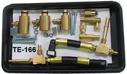Fuel injection pressure tester adapter set